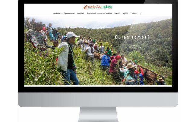 Web Col·lectiu Maloka