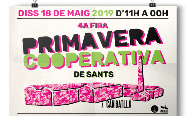 Cartell de la Primavera Cooperativa 2019